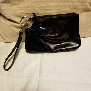 Handbags - 👗Black faux leather cocktail purse